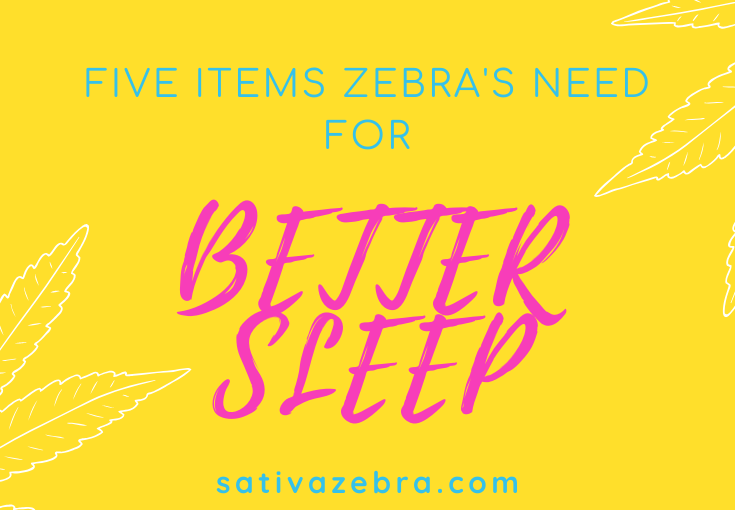 Better Sleep with a Chronic Illness 5 items Zebra's need for better sleep!